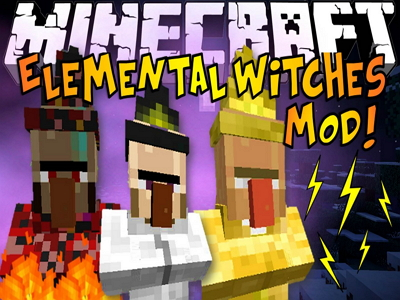 Elemental Witch Mod image