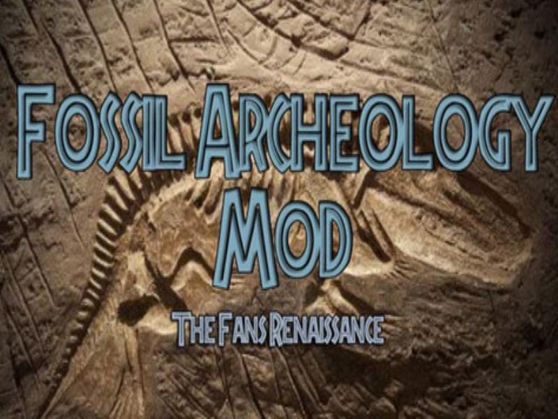 Fossil Archeology Mod image