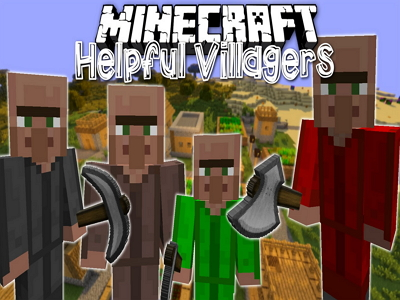 Helpful Villagers Mod image