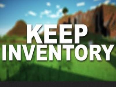 Keep Inventory on Death Mod image