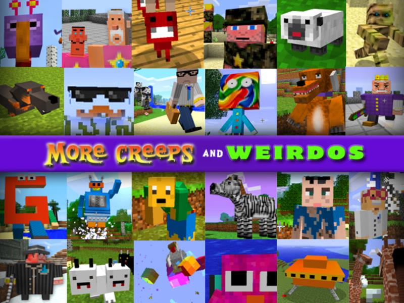 More Creeps and Weirdos Mod image