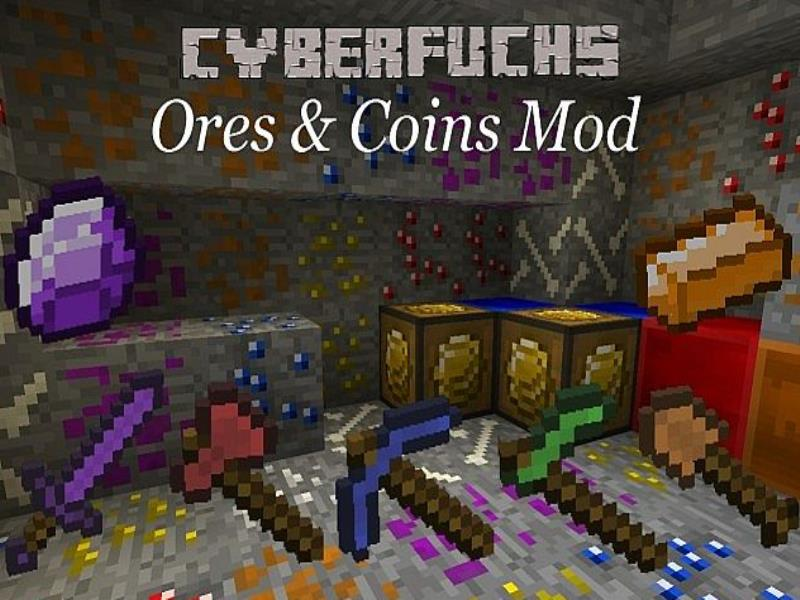 Ores and Coins Mod image