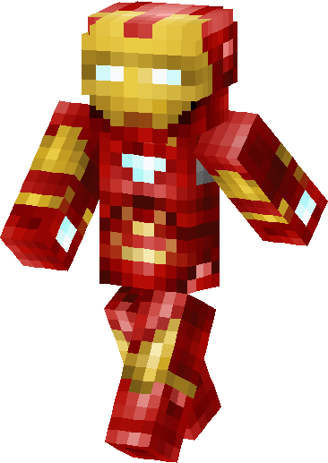 Iron Man Skin image front left