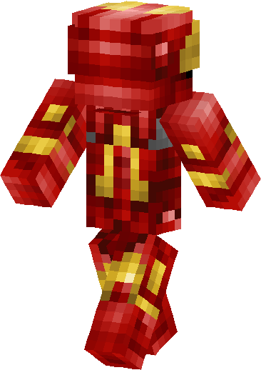 Iron Man Skin image back right