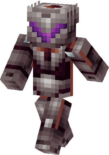Nether Knight Skin image front left