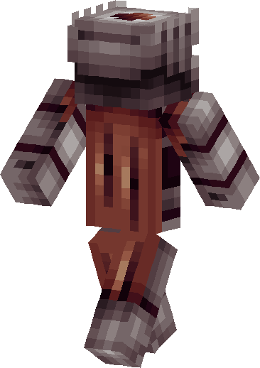 Nether Knight Skin image back right