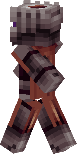 Nether Knight Skin image back left