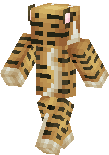 Tiger Skin image back right