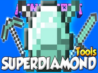 Super Diamond Tools Mod image
