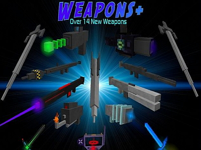 Weapons Plus Mod image